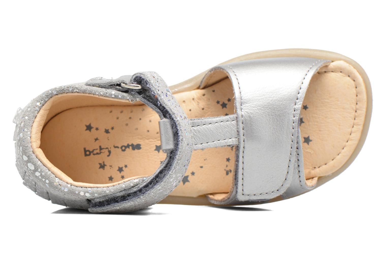 Sandales et nu-pieds Babybotte Tchipi Argent vue gauche