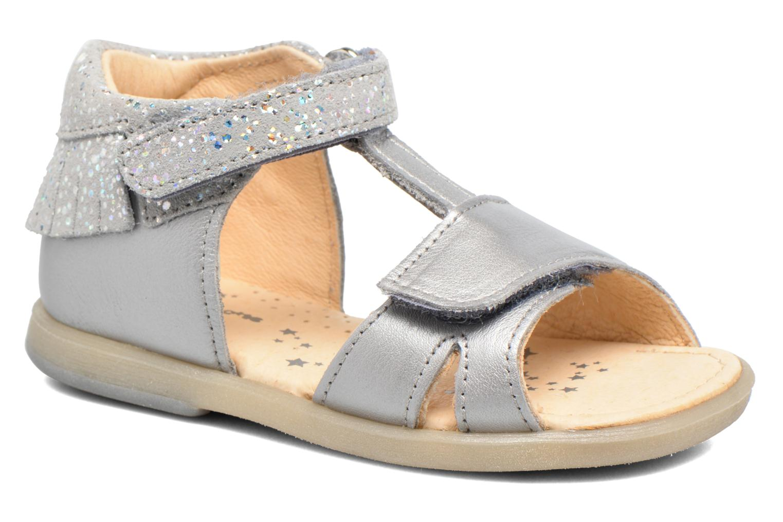 Sandales et nu-pieds Babybotte Tchipi Argent vue détail/paire