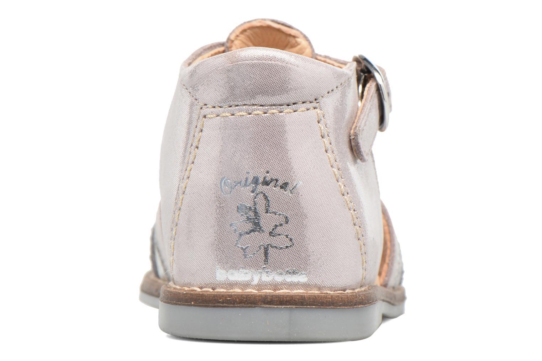 Sandales et nu-pieds Babybotte Teoxana Argent vue droite