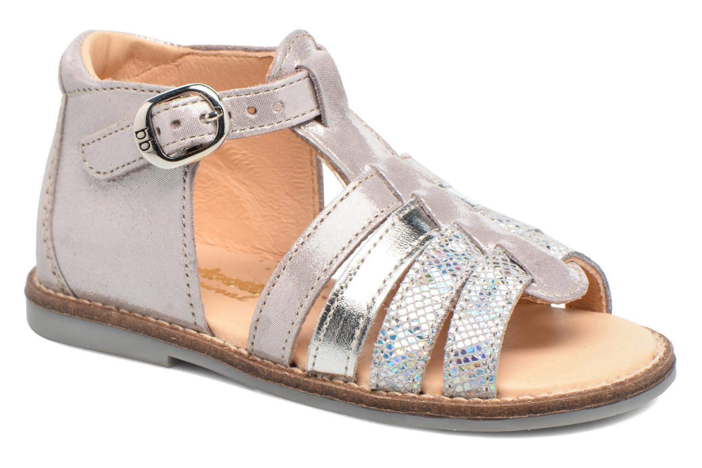 Sandales et nu-pieds Babybotte Teoxana Argent vue détail/paire