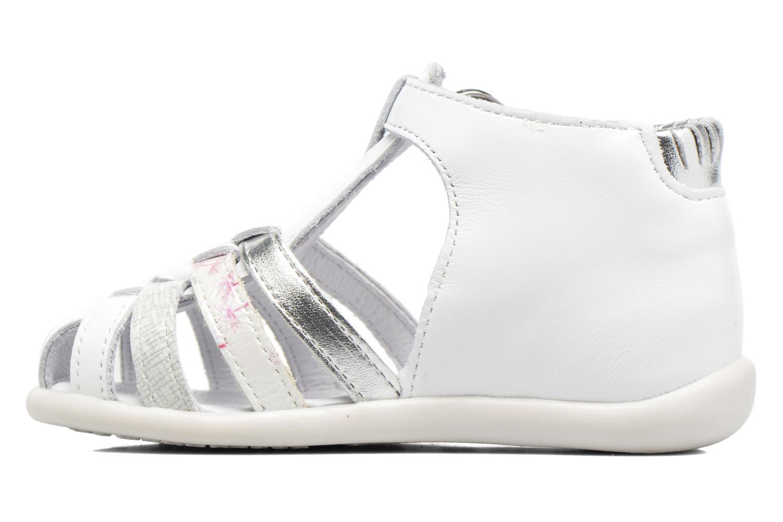 Sandales et nu-pieds Babybotte Guppy4 Blanc vue face