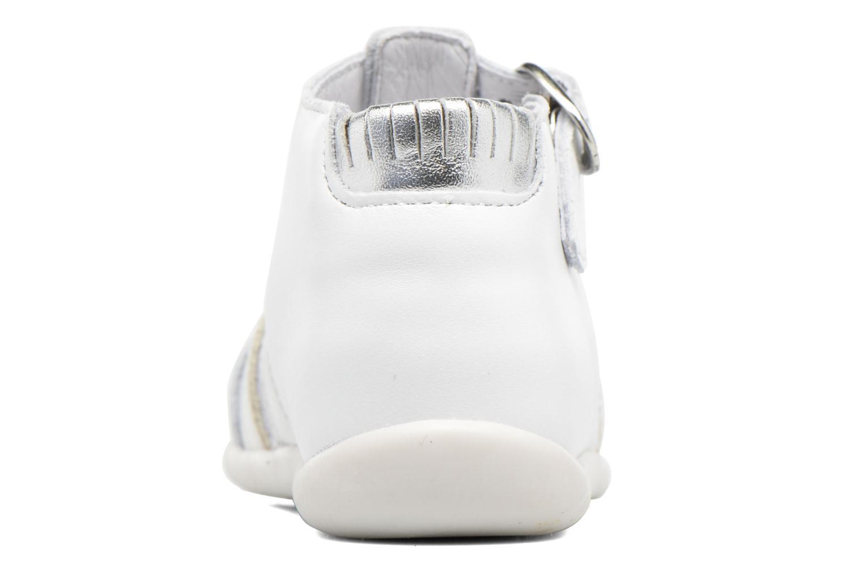 Sandales et nu-pieds Babybotte Guppy4 Blanc vue droite