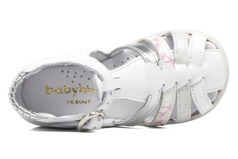 Sandales et nu-pieds Babybotte Guppy4 Blanc vue gauche
