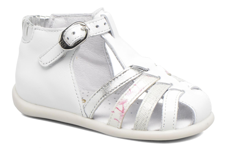 Sandales et nu-pieds Babybotte Guppy4 Blanc vue détail/paire