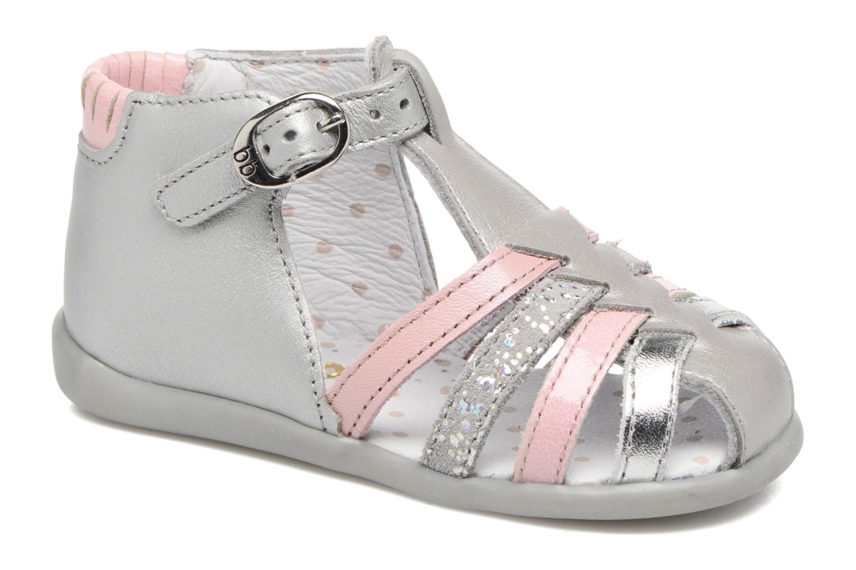 Sandales et nu-pieds Babybotte Guppy4 Argent vue détail/paire