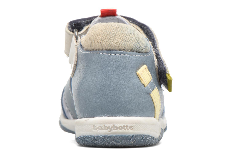 Sandales et nu-pieds Babybotte Typo3 Bleu vue droite