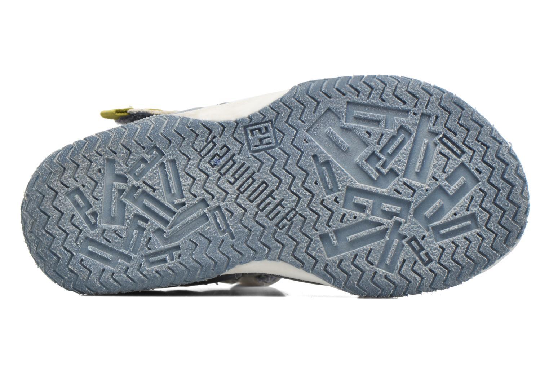 Sandales et nu-pieds Babybotte Typo3 Bleu vue haut