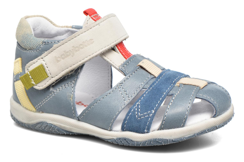 Sandales et nu-pieds Babybotte Typo3 Bleu vue détail/paire