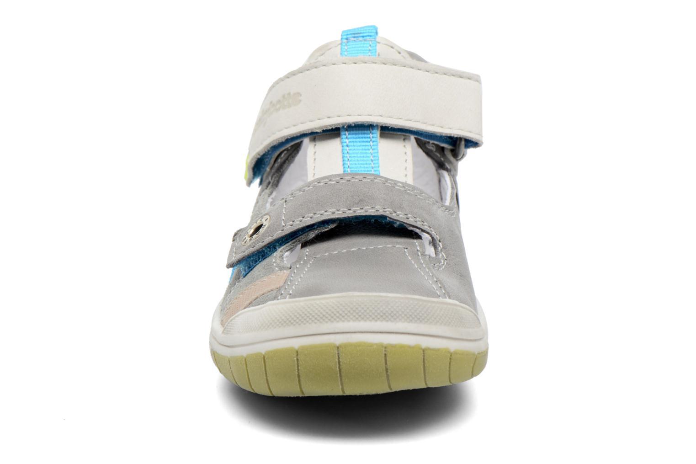 Bottines d'été Babybotte Steppe Gris vue portées chaussures
