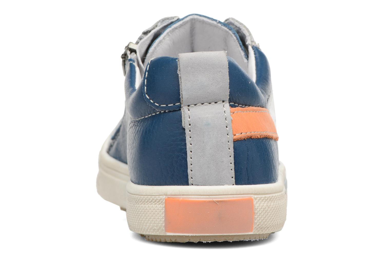 Baskets Babybotte Koyote Bleu vue droite