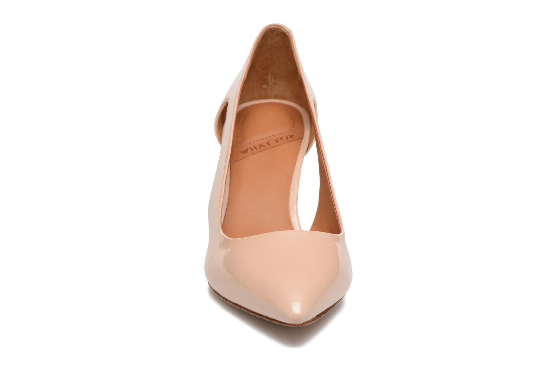 Escarpins What For Cosmos Beige vue portées chaussures