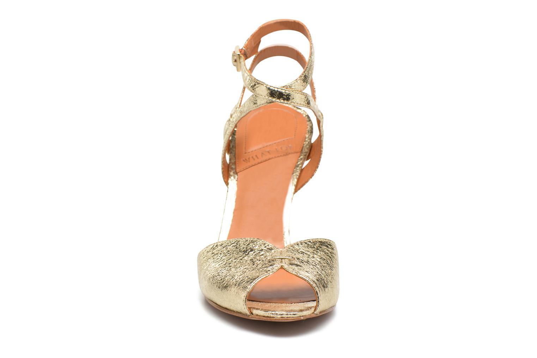 Sandales et nu-pieds What For Milky Way Or et bronze vue portées chaussures