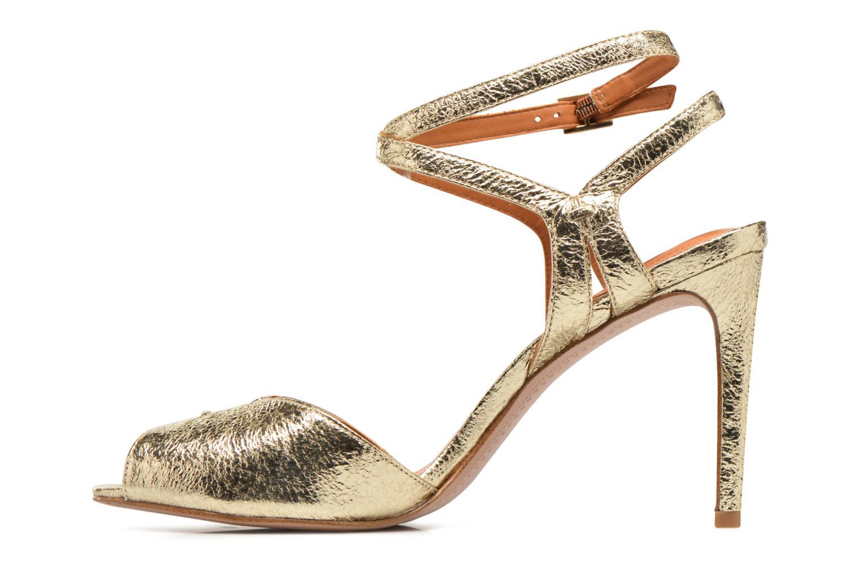 Sandales et nu-pieds What For Milky Way Or et bronze vue face