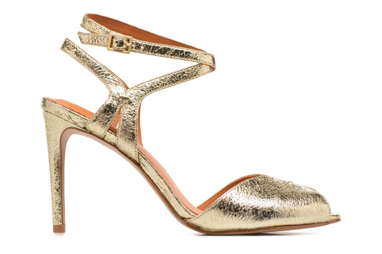Sandales et nu-pieds What For Milky Way Or et bronze vue derrière