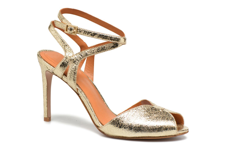 Sandales et nu-pieds What For Milky Way Or et bronze vue détail/paire