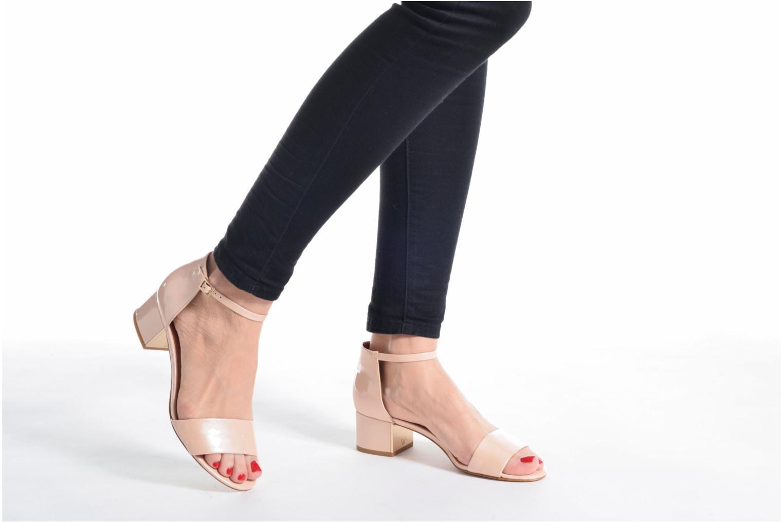 Sandales et nu-pieds What For Saturn Beige vue bas / vue portée sac
