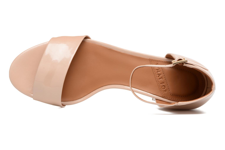 Sandales et nu-pieds What For Saturn Beige vue gauche