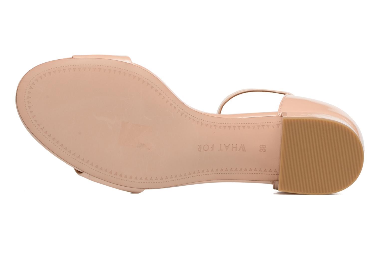 Sandales et nu-pieds What For Saturn Beige vue haut