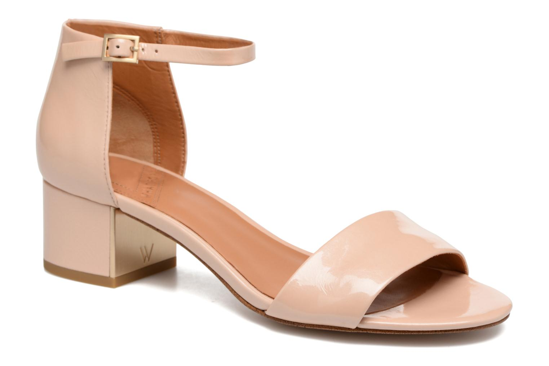 Sandales et nu-pieds What For Saturn Beige vue détail/paire