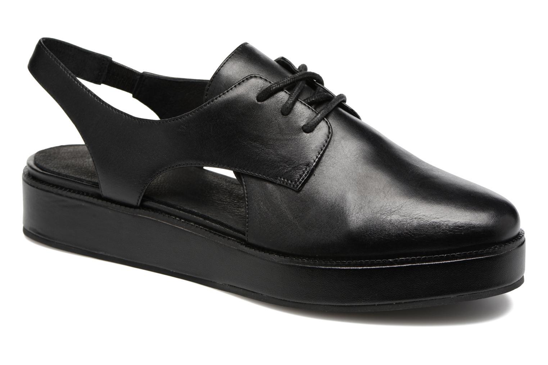 Chaussures à lacets What For Jupiter Noir vue détail/paire