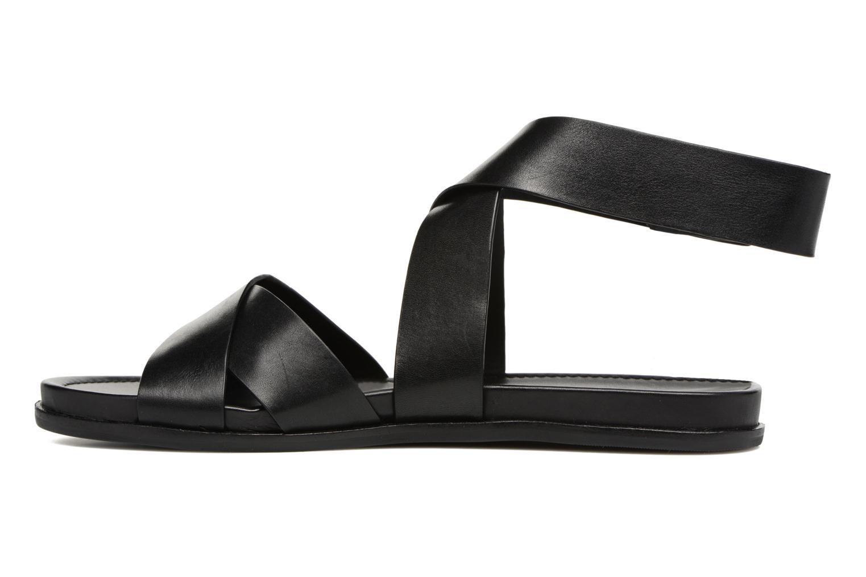 Sandales et nu-pieds What For Epsilon Noir vue face