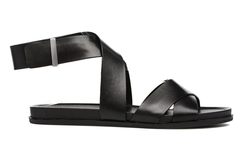 Sandales et nu-pieds What For Epsilon Noir vue derrière