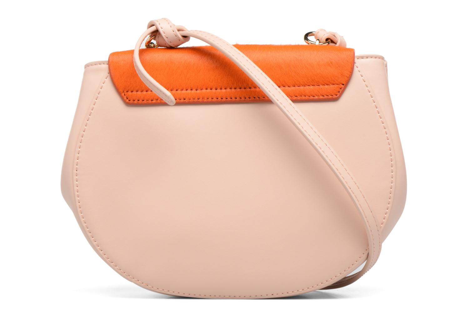 Sacs à main Guess MAELLE Leather Crossbody flap Rose vue face