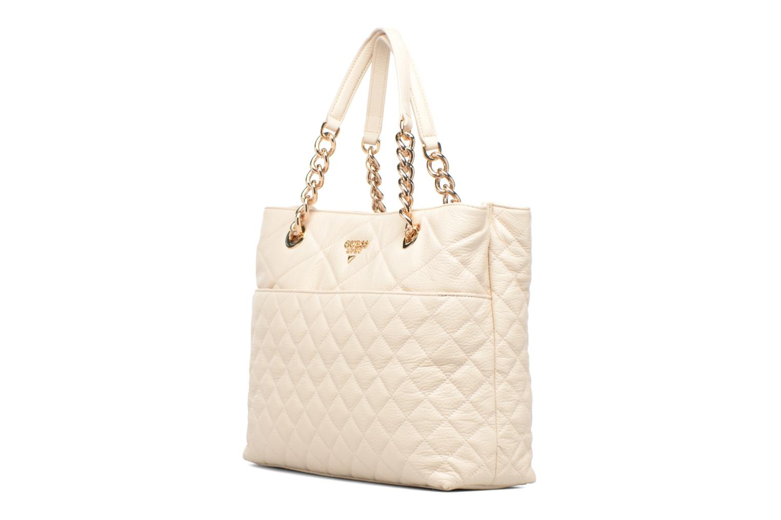 LOU Leather Carryall Milk