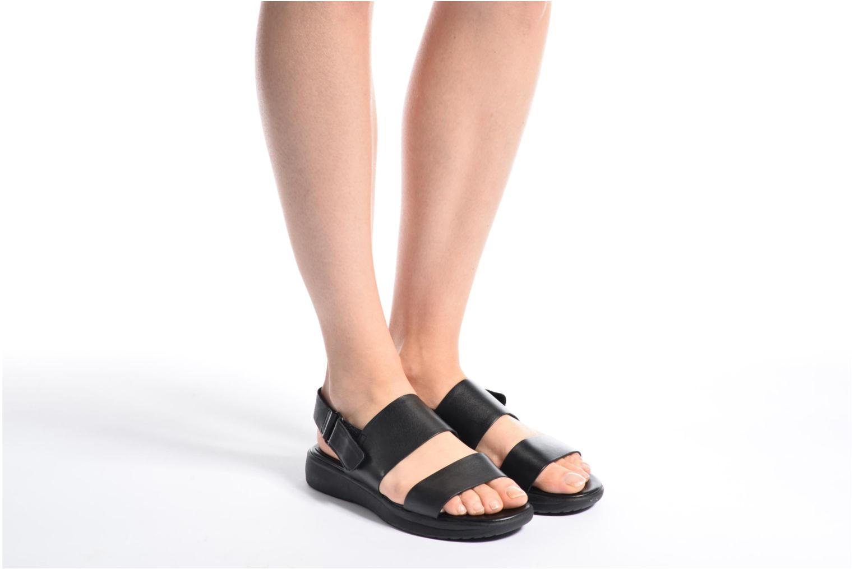 Sandales et nu-pieds Vagabond Shoemakers Lola 4333-001 Noir vue bas / vue portée sac