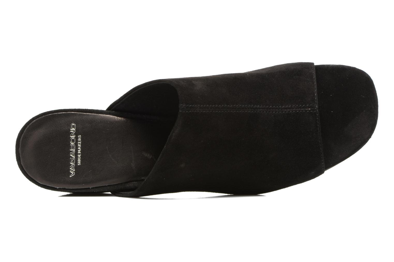 Mules et sabots Vagabond Shoemakers Saide 4335-040 Noir vue gauche