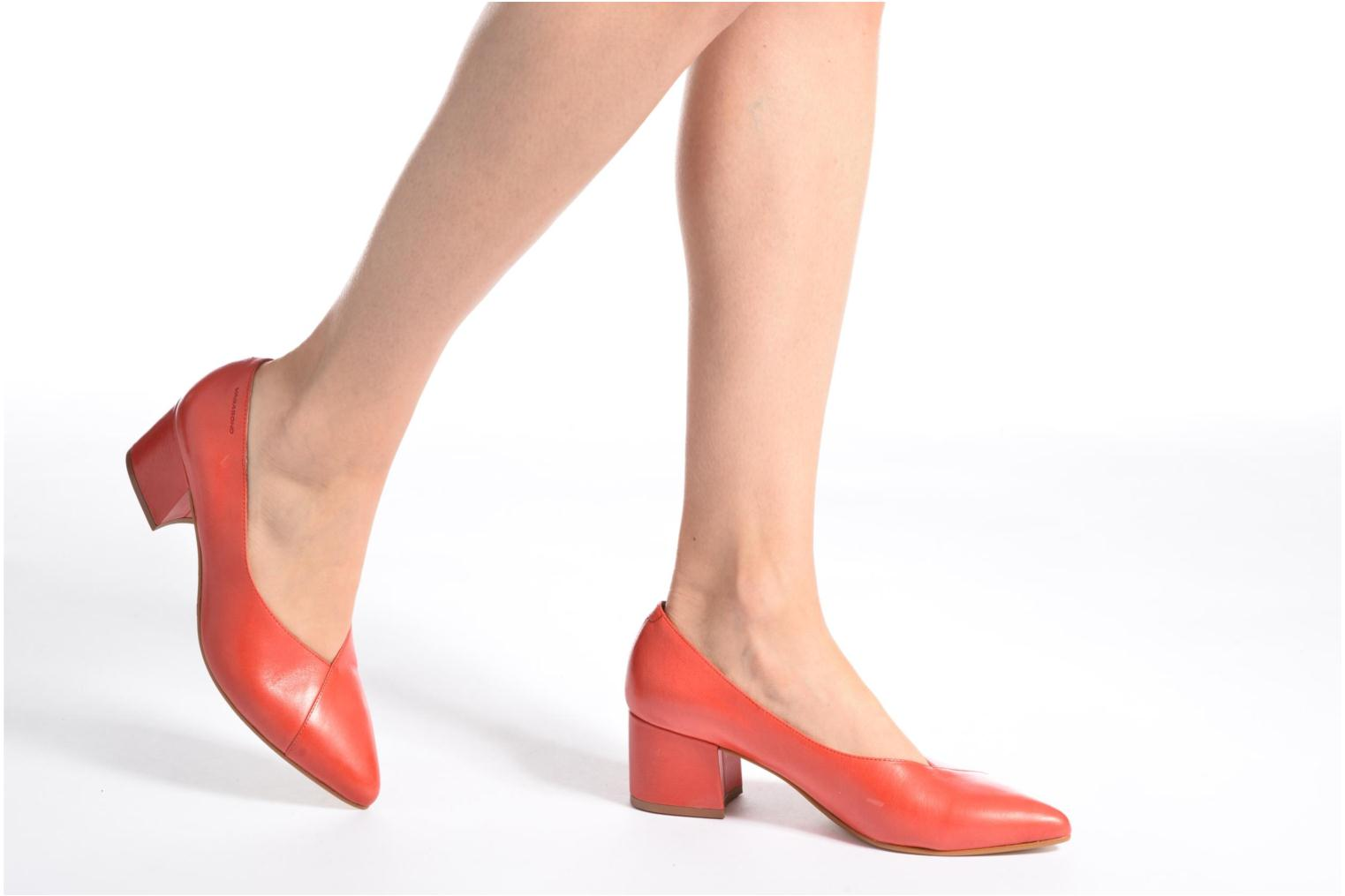 High heels Vagabond Shoemakers Mya 4319-101 Red view from underneath / model view