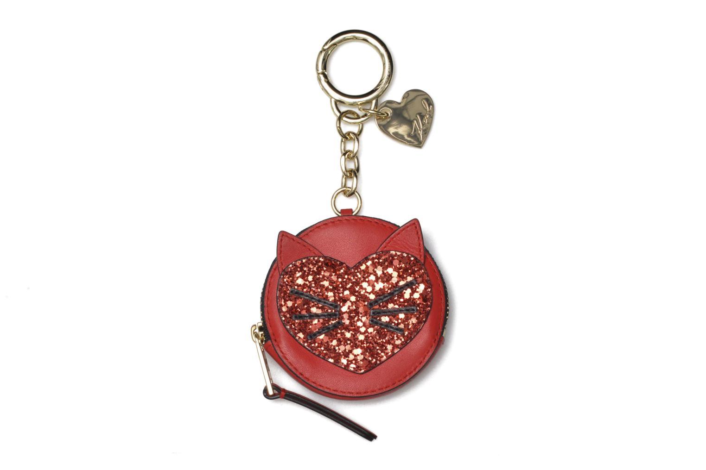 Divers Karl Lagerfeld Valentine purse Rouge vue détail/paire
