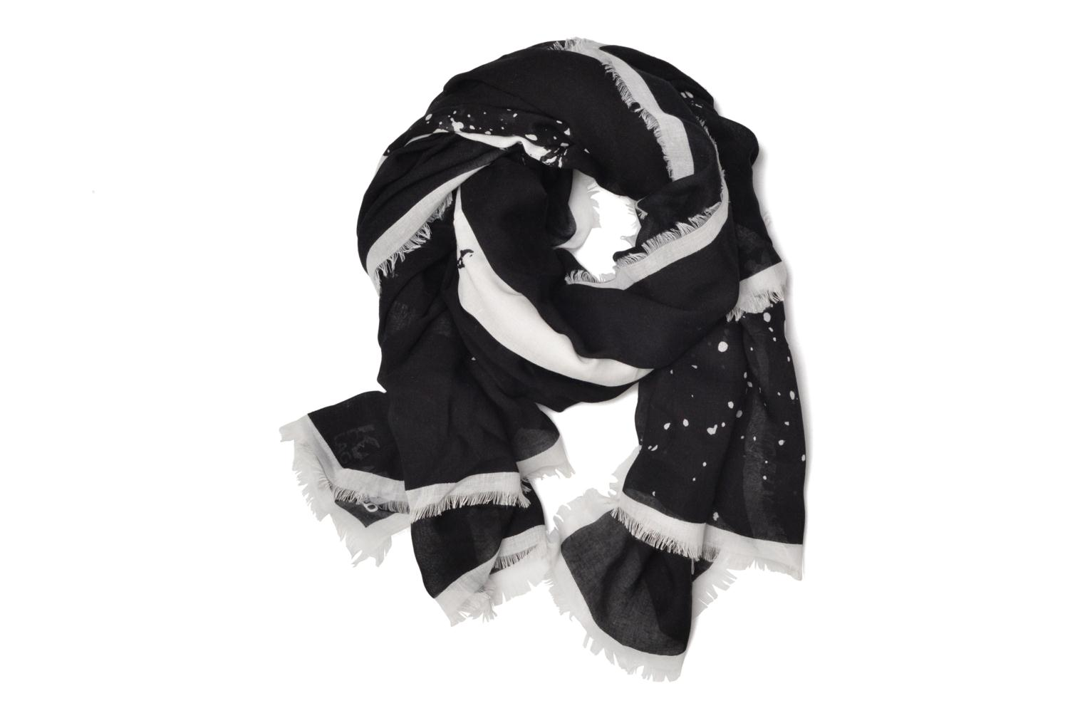 Sprayface scarf Black