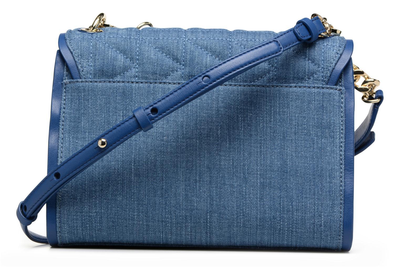 Kuilted Denim Handbag Denim