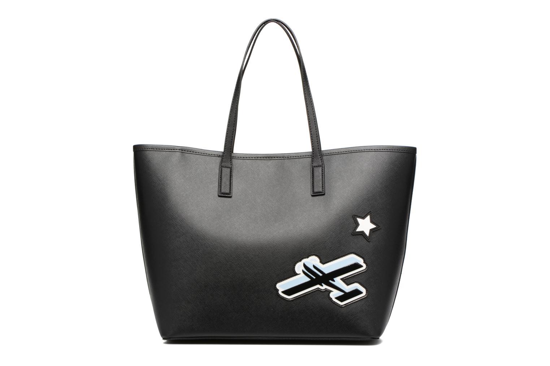 Sacs à main Karl Lagerfeld Jet Karl Shopper Noir vue face