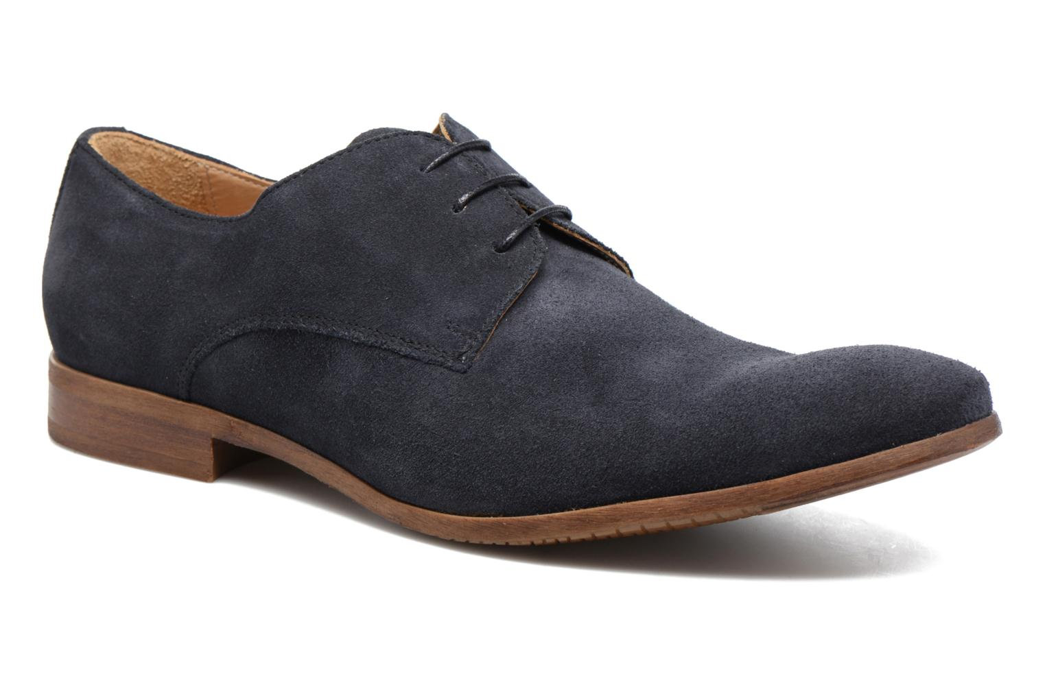 Lace-up shoes Marvin&co Nordrich Blue detailed view/ Pair view