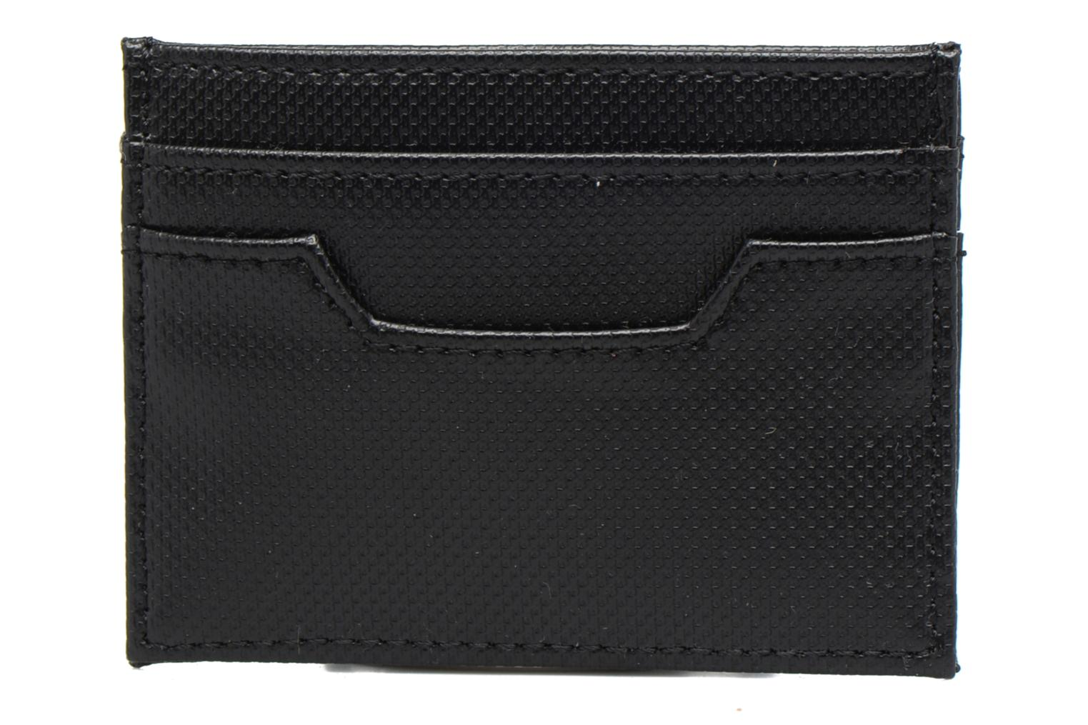Petite Maroquinerie Fred Perry PIQUE TEXTURE CARD HOLDER Noir vue face