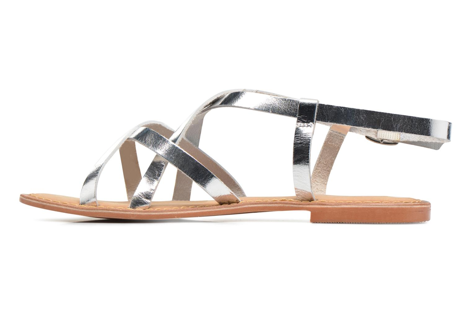 Vina Leather Sandal Silver