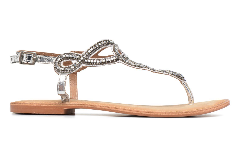 Sandales et nu-pieds Vero Moda Sis Leather sandal Argent vue derrière