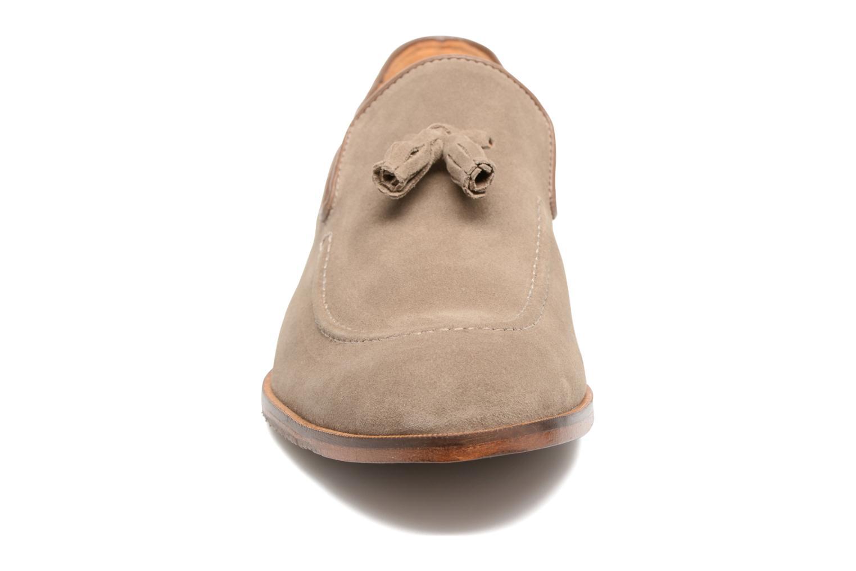 Mocassins Marvin&Co Newmains Beige vue portées chaussures