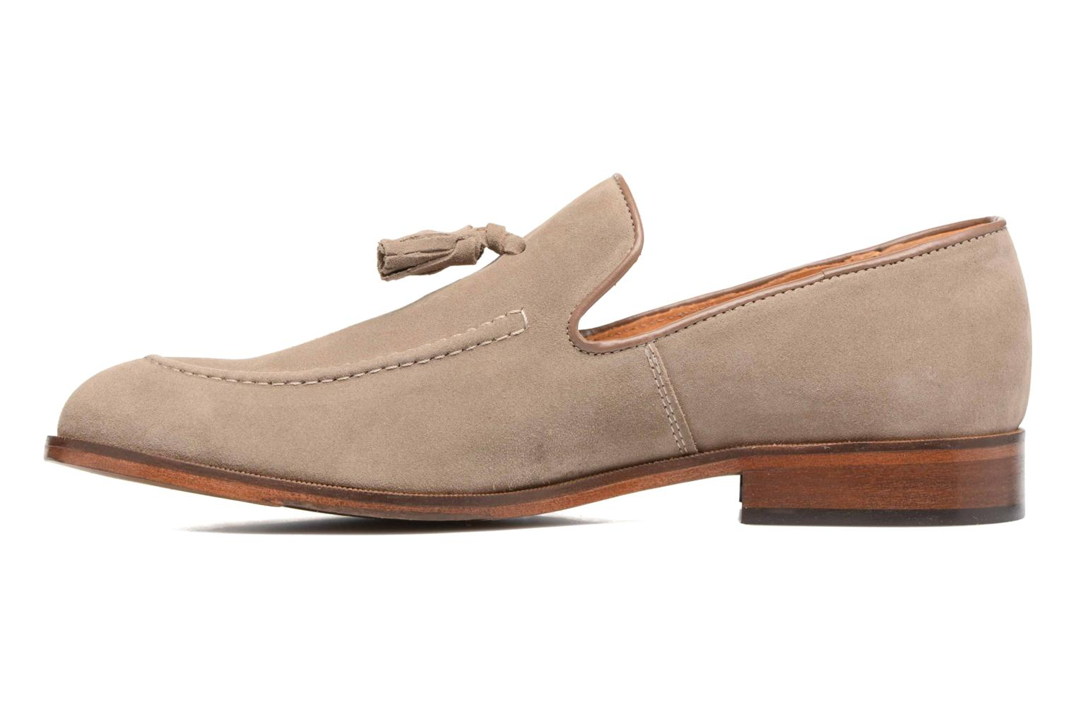 Loafers Marvin&Co Newmains Beige bild från framsidan