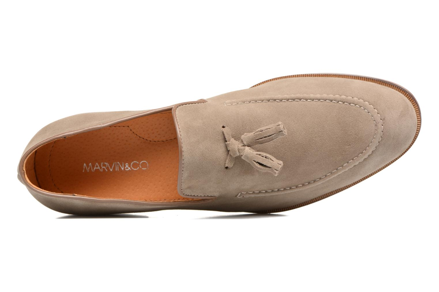 Mocassini Marvin&Co Newmains Beige immagine sinistra