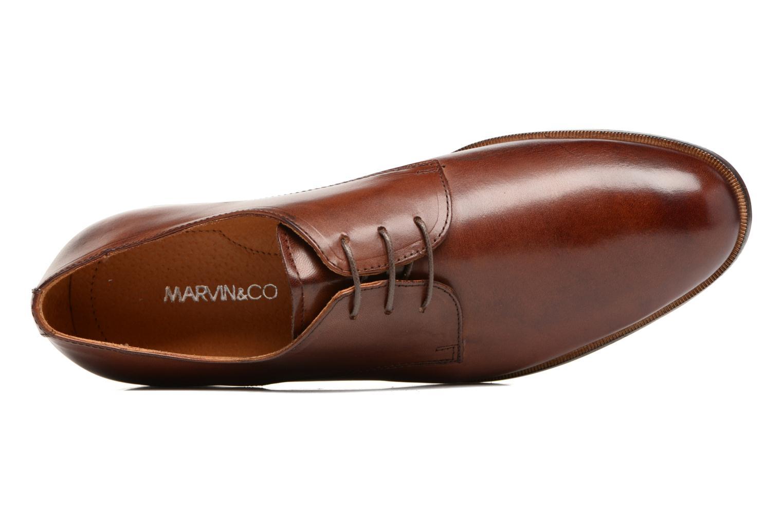 Chaussures à lacets Marvin&Co Nithsdale Marron vue gauche