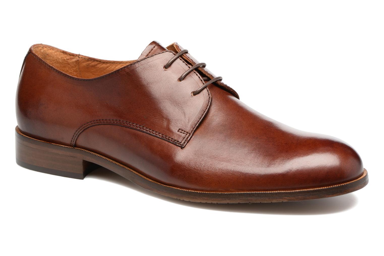 Chaussures à lacets Marvin&Co Nithsdale Marron vue détail/paire