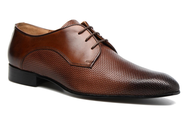 Chaussures à lacets Marvin&Co Narbroath Marron vue détail/paire