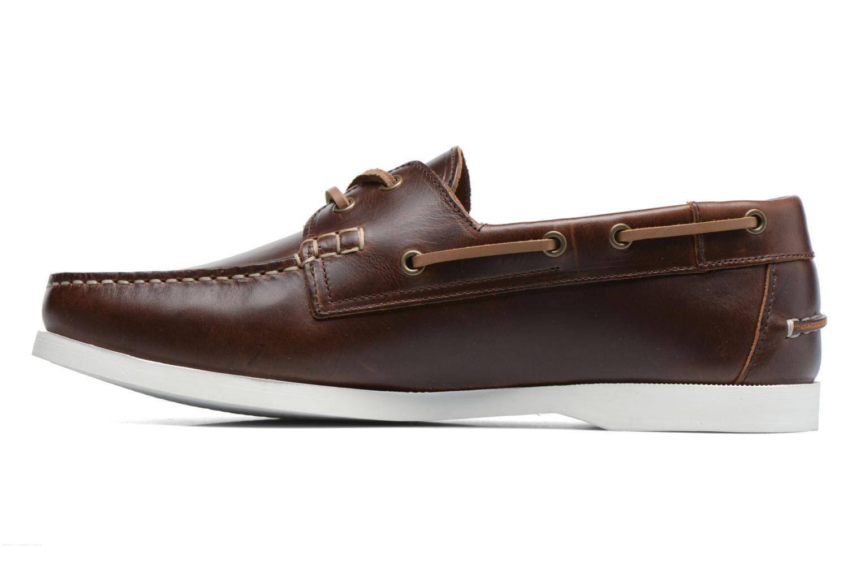 Chaussures à lacets Aigle Havsea Marron vue face