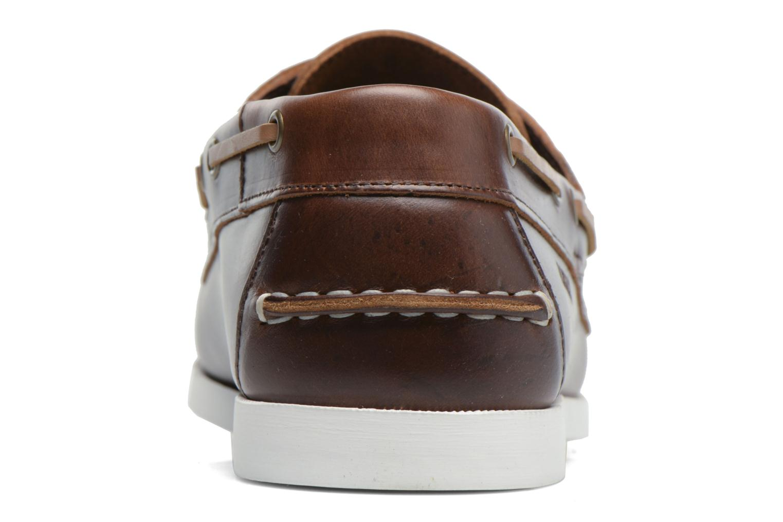 Chaussures à lacets Aigle Havsea Marron vue droite