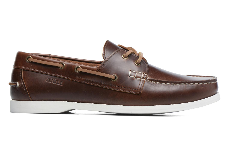 Chaussures à lacets Aigle Havsea Marron vue derrière