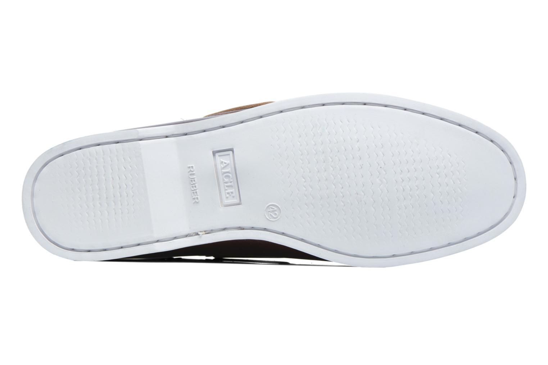Chaussures à lacets Aigle Havsea Marron vue haut