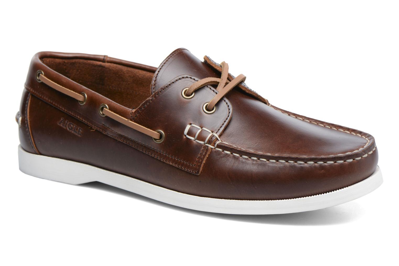 Chaussures à lacets Aigle Havsea Marron vue détail/paire